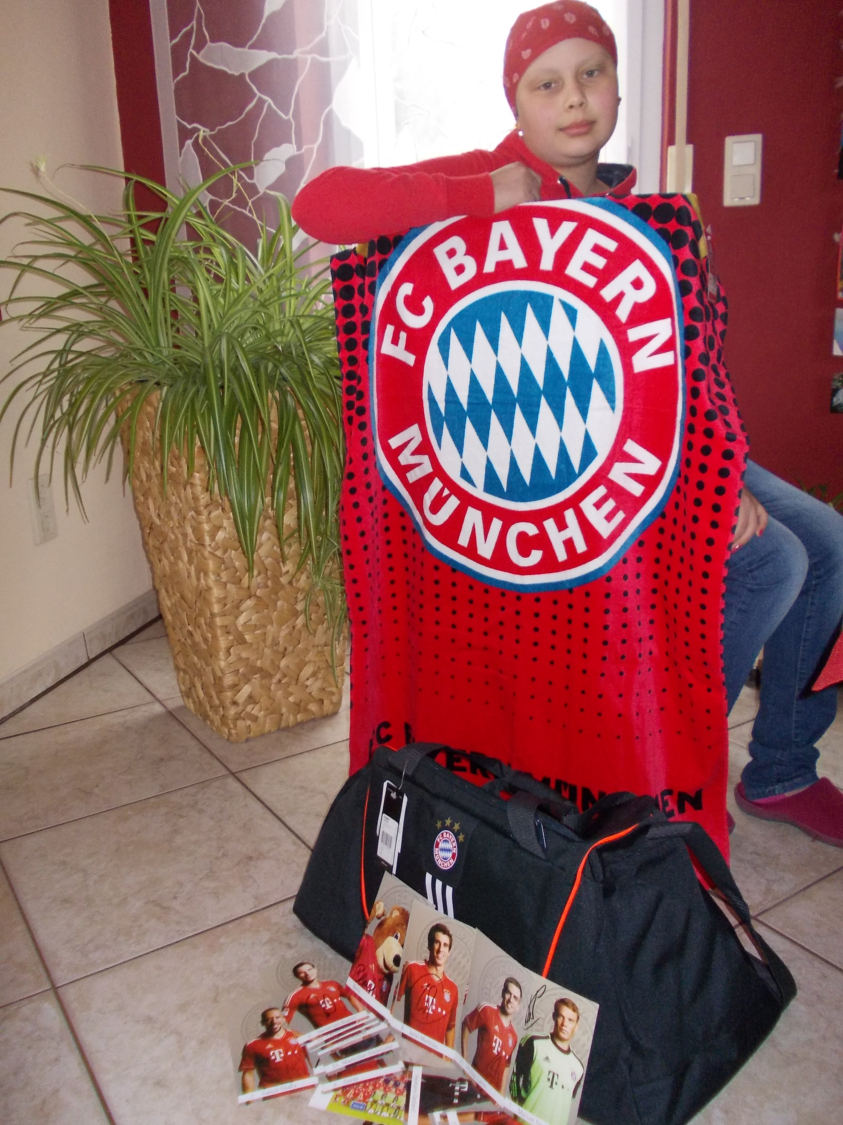 íst ein großer Bayern Fan